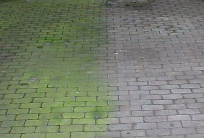 hogedruk reinigen beton